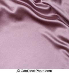 rose, tissu, fond, soie, satin, ou