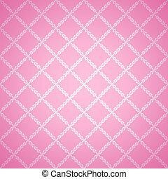 rose, tissu, texture, arrière-plan., vecteur, illustration