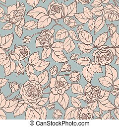 rose vector pattern