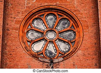 Rose Window of a Church
