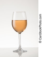 Rose Wine - Rose wine in a white wine style glass