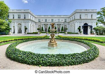 Rosecliff Mansion - Newport, Rhode Island - NEWPORT, RHODE...