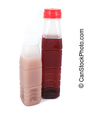 Roselle juice in plastic bottle - Roselle juice in plastic...