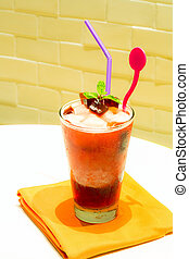 Roselle smoothie