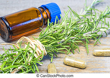 rosemary with tincture