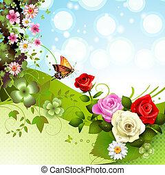 rosen, hintergrund