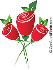 rosen, rotes