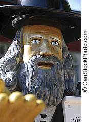 rosenbom, -, folklore, statue, schwedische