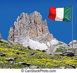 rosengarten, italien, alperna