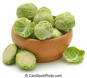 Rosenkohl or Brussels sprout