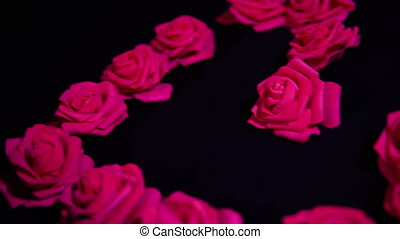 roses, метраж, счастливый, день, валентин