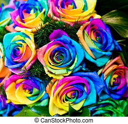 roses colored