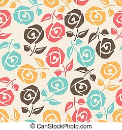 roses., coloridos