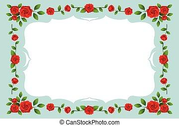 Roses Frame, Border