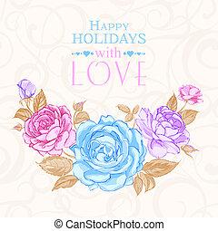 roses., invito