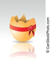 rosette egg