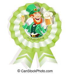 Rosette on St. Patricks Day