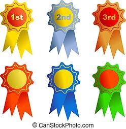 rosettes - awards