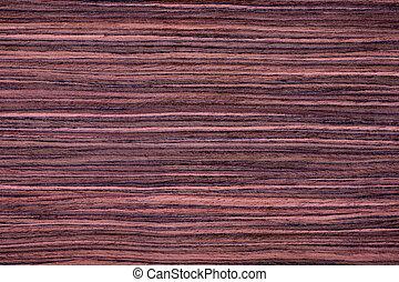 Rosewood - Texture of red rosewood veneer, seamless.