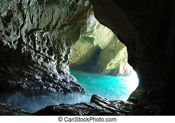 Rosh ha nicra cave, Israel
