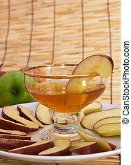 Rosh hashana 2 - Apples and honey, symbolic of the Jewish...