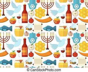 Rosh Hashanah, Shana Tova pattern