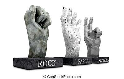 Roshambo - Rock Paper Scissors