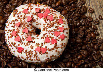 rosquillas, y, café