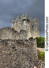 Ross Castle in Killarney National Park, County Kerry