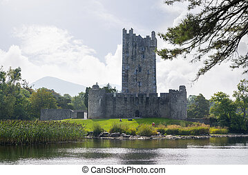 ross castle on the lakes of killarney