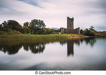 Ross Castle ruins in Ireland