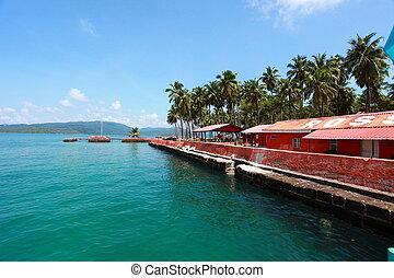 Ross Island, Andamans - India