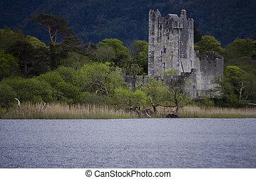 ross, killarney, アイルランド, 城