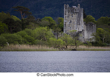 ross, killarney, irlanda, castillo