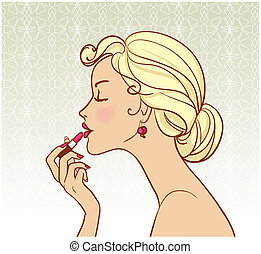rossetto, pin-up