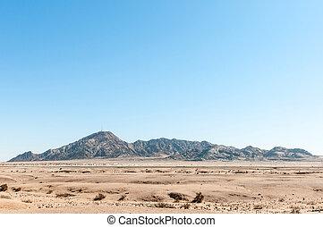 Rossing Mountain between Swakopmund and Arandis