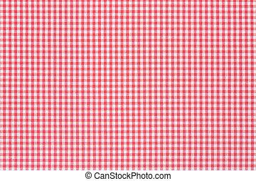 rosso bianco, tovaglia, struttura