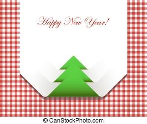 rosso, checkered, picnic, tovaglia