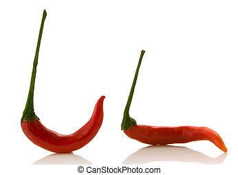 rosso, chili pepa