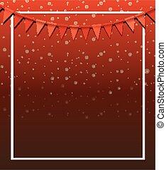 rosso, disegno, bandiere, fondo