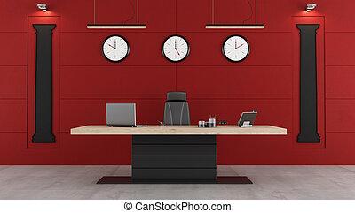 Ufficio Rosso E Bianco : Cartelle documenti ufficio moderno nero rosso cartelle
