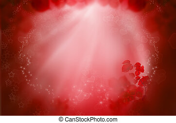 rosso, fantasia, fondo, per, amore, fare un sogno, e, giorno valentine