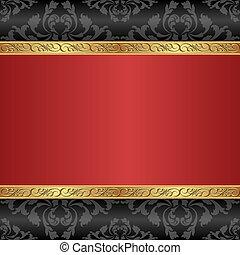 rosso, fondo
