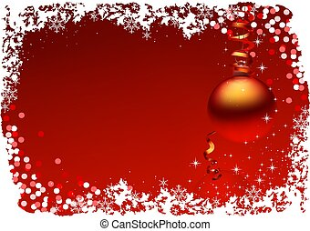 rosso, natale
