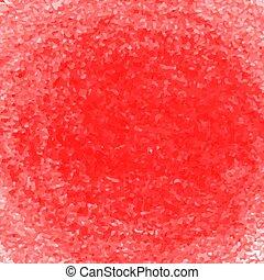 Pastello Astratto Scarabocchio Sfondo Rosso Hand Drawn Colori