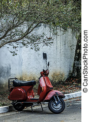 rosso, scooter