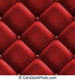rosso, tappezzeria