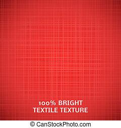 rosso, tessuto, texture., vettore, illustrazione, per, tuo, elegante, disegno
