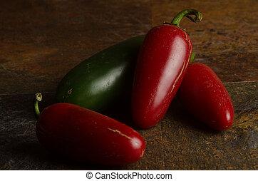 rosso verde, jalapenos