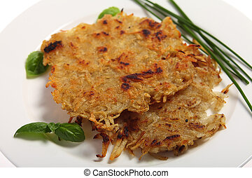 Rosti potatoes - Traditional rosti potatoes in the Swiss ...